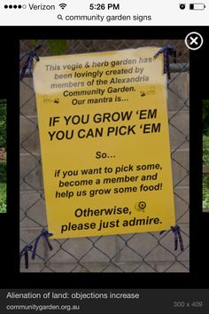 Community garden ideas Ideas and Actions Pinterest