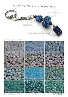Spirala beading: Rutkovsky Beads Summer Collection 2020 Summer Collection, Beading, Personalized Items, Etsy, Jewelry, Design, La Perla, Beads, Jewlery
