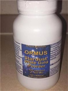 White Powder Gold 120 Count