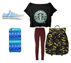 """Normal Starbucks"" by keke-wynter on Polyvore"