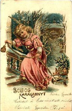 régi karácsonyi képeslap - Google keresés