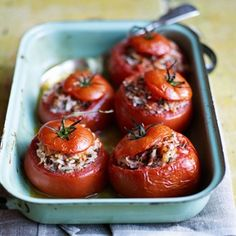 Stuffed Tomatoes - Healthy Recipes Ideas - Healthy & Easy Recipes