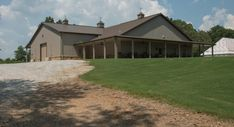 From basic to bold, Morton Buildings builds the finest, pole barns, equestrian buildings, steel buildings and more. Learn about post-frame construction. Morton Building Homes, Metal Building Homes, Building A House, Metal Barn Homes, Pole Barn Homes, Steel Frame House, Steel House, Steel Buildings, House Plans