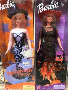 Mattel Muneca Halloween Hip Barbie Doll Boo-ti-ful Hispanic With Bracelets NRFB