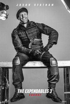Expendables 3: New Roll Call Video Release and 16 Character Posters! - Jason Statham