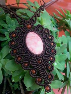Macrame Dream Necklace by Mundo Makramee