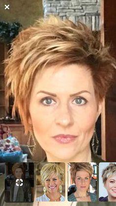 Hair Beauty - Makeup Short Haircuts In 2019 Funky Short Hair Short Short Choppy Hair, Short Layered Haircuts, Medium Short Hair, Short Hair With Layers, Short Hair Cuts For Women, Short Funky Hairstyles, Funky Medium Haircuts, My Hairstyle, Pretty Hairstyles