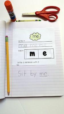 Sight Words and Word Families Week 2 | Lernspiele, Alphabet und Kind