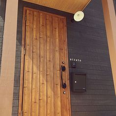 Minimal Home, Home Renovation, Tall Cabinet Storage, Entrance, Minimalism, Home And Garden, Woodworking, Doors, House Styles