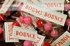 You make my heart bounce! Love it. Have to see if J & N want to do these for their valentines.