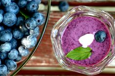 Chilled Blueberry Soup from French Toast, Cheesecake, Salad, and 20 Other Recipes to Make With Berries
