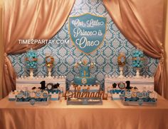 """Prince / Birthday """"A Royal First Birthday for a Little Prince"""" 