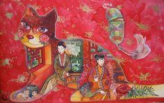 Chine,papier** - Painting,  50x31 cm ©2007 von Oxana Zaika -  Malerei