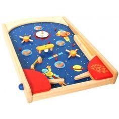 jouet Flipper Space Pinball en bois