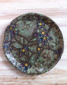 ceramic plate decor by nomen omen studio