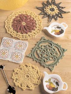 Ultimate Miniature Doilies I  ***these are super quick and make great coasters - a set of four is a perfect hostess gift***