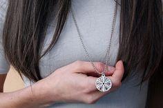 PYKNIC2 silver plate snowflake pendant, snowflake jewelry, winter jewelry, winter snowflake, snow pendant, winter pendant, snowflake