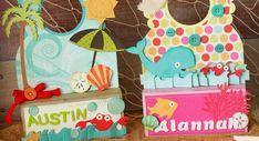 Adorable beach door hangers by Tamara Tripodi using SVG Cuts