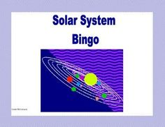This is a great way to review the Solar System.  Questions about the planets, the Milky Way, and comets,(to name a few), will lead your students through a fun  review and reinforce the concepts you're teaching.  The students will enjoy this colorful game as they build their skills.  This colorful game can be printed on heavy cardstock and laminated to make a lasting reusable game. As an alternative, you can choose to print it on paper and allow the students to cross off the answers.