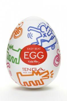 Tenga Egg Street : le fameux masturbateur Tenga revu par Keith Haring !