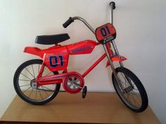 1981 Hedstrom Dukes of Hazzard General Lee Bicycle