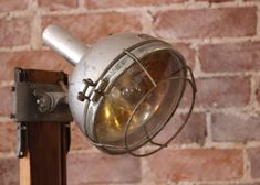 Carpenter Light and Wood Lamp - Sticks & Bricks