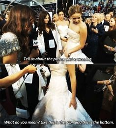 Jennifer Lawrence - funny pictures / funny pics / lol /  #humor #funny #funnypictures #funnypics