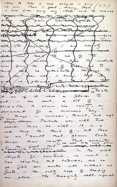 Oscar Wilde's handwritten manuscript page of The Picture of Dorian Gray