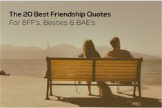 The 20 Best Funny Friendship Quotes For BFF's  http://www.quotezine.com/friendship-quotes-best/  #bestfriends #friendship #quotes