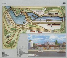 N Scale Train Layout, N Scale Layouts, Model Train Layouts, N Scale Model Trains, Scale Models, Model Railway Track Plans, Ho Trains, Train Tracks, Locomotive