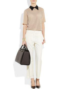 Victoria Beckham | Victoria leather tote | NET-A-PORTER.COM