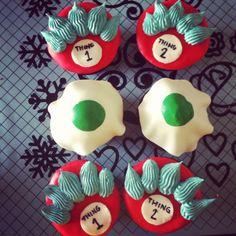 Dr. Seuss Cupcakes!