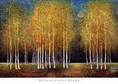Golden Grove Fine-Art Print by Melissa Graves-Brown at UrbanLoftArt.com