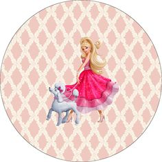 Kit Festa para Imprimir: Kit Festa Barbie
