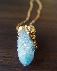 Bromeliad: Raw stone and crystal jewelry inspiration