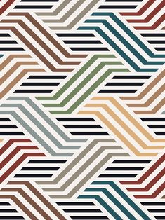 Shop our collection of fresh, bold and beautiful wallpapers. Made in the UK. Digital Ink, Digital Prints, Fabric Patterns, Print Patterns, Unique Wallpaper, Strip Quilts, Thing 1, Art Design, Textile Prints