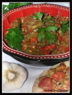 Turkish Food Passion: Baba Ghanoush (Babagannuc)