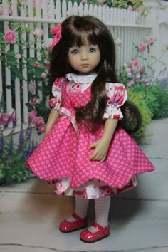 """~ 3-PIECE VALENTINE OUTFIT FOR 13"""" EFFNER LITTLE DARLING DOLLS by SHERRY ~ #DiannaEffner"""