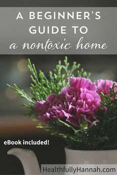 Find out why everyday household items may be making your home toxic and the exact steps to take to create a nontoxic home for your family! (+ a free eBook to make the transition even easier!)