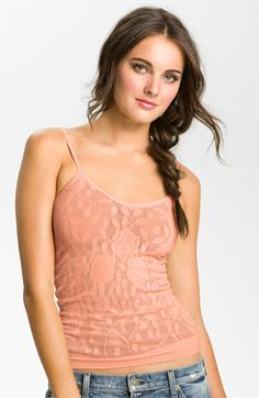 Free People Floral Lace Camisole | Nordstrom