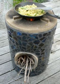 ~*~LOVE IT~*~ COB ROCKET STOVES TO COOK AND HEAT WITH | the rocket stove was…