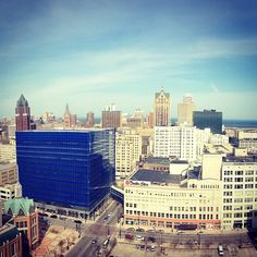 Downtown Milwaukee!
