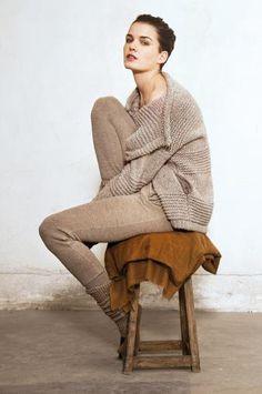 Lounge wear, nothing overstyled or harsh lines of garments  Humanoid @ orangebag.nl