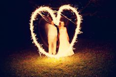 Tip je trouwfotograaf: light writing op je bruiloft | ThePerfectWedding.nl