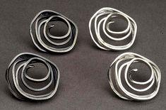 Swirl Earrings by Lori Gottlieb.