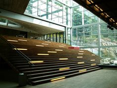 architecture grand stair atrium - Google Search