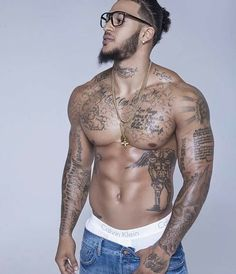 I love tatted up men
