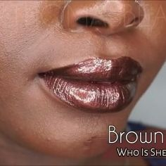 "Video swatch of this super gorgeous lip composite in the shade ""Brown Suga""  by @whoisshecosmetics ! This is definitely one of my favorites! @whoisshecosmetics is having a 50% off reopening sale so you can snag this and more gorgeous single shades with the code ""freshstart"" or get 10% off their lipstax with my code ""jtbeauty""  #whoisshecosmetics #whoisshecosmetics_lipswatches #cocoaswatches #makeupforblackwomen #makeupformelaningirls #makeupmatters4woc #brownsugar #instabeauty #..."