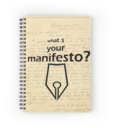 """What s your Manifesto? What do you stand for?/ Bigger than life"" Spiral Notebooks by beyondartdesign Life S, Female Models, Chiffon Tops, Vivid Colors, Spiral Notebooks, T Shirts For Women, Best Deals, Big, Mens Tops"