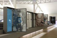 Bohumil Hrabal Diseño exposición, Casa del Lector Matadero, Madrid